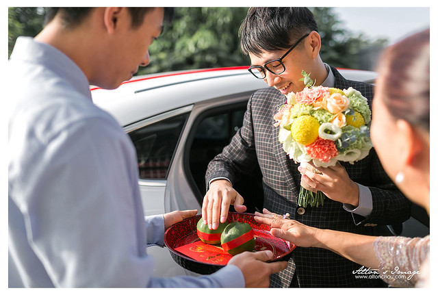 [高雄婚攝] Hilbert & Vivian 婚禮紀錄 @自宅
