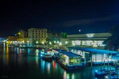 Venezia, Italia (lostambivertJDF) Tags: ciao italia italy venedig venezia venice lights boats colors night photography lowlight