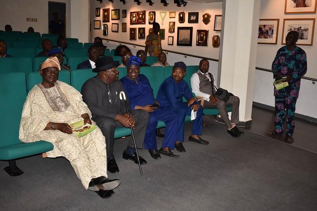 HSDickson- His Excellency Tour To The Olusegun Obasanjo Presidential Library. Novenmber 2018