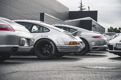 2018 Porsche Rally (Dylan King Photography) Tags: porsche 911 993 964 996 997 991 918 rwb rauhwelt begriff rauhweltbegriff wide body custom customized modified rothmans livery jagermeister martini langley center vancouver bc british columbia canada