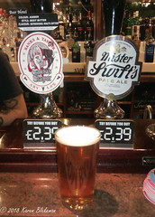 December 9th, 2018 Today's Tipple - Santa's Slayer (karenblakeman) Tags: baroncadogan pub caversham uk beer ale banksandtaylor santasslayer misterswiftspaleale 2018 2018pad december reading berkshire