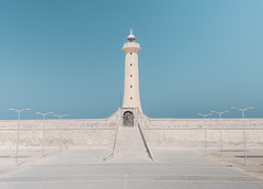 Rabat Lighthouse (jbrad1134) Tags: sun minamalist lighthouse midday morocco colors travel rabat