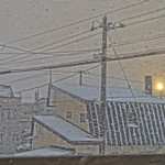 Sunset Through Blizzard, Zoomed thumbnail