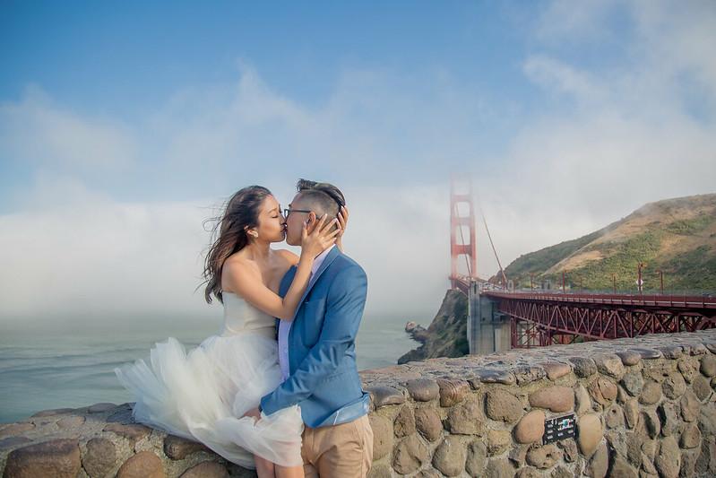 美國婚禮,舊金山,舊金山婚禮,舊金山婚紗,金門大橋,海外婚禮