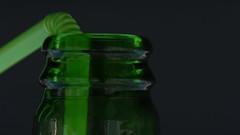 Green Straw In Green Bottle (rq uk) Tags: rquk nikon d750 nikond750 afsvrmicronikkor105mmf28gifed green straw bottle macromondays