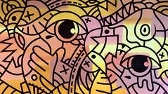 ottograph painting - finger on the trigger - acrylic and ink on canvas - 85x155 cm #ottograph 2018 (ottograph / ipainteveryday.com) Tags: ottograph amsterdam paint kmdg graffiti streetartistry streetart popart art kunst canvas painting urbanart handmade gallery freehand urbanwalls design drawing ink illustration wijdesteeg linework graphic murals artist artgallery acrylic museum painter kmdgcrew 500guns street draw colorful sketch color inspiration doodle creative artoftheday artistic artsy photooftheday love instadaily worldofartists likeforlike followforfollow beautiful bestartfeature photography instaartist instanerd instacool