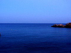 View from the Beach House Resort at the Wedding Evening (dimaruss34) Tags: newyork brooklyn dmitriyfomenko image greece antiparos sky sea water cliff rocks horizon