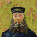 The Postman (Joseph Roulin) (1888) by Vincent Van Gogh. Original from the J. Paul Getty Museum. Digitally enhanced by rawpixel.
