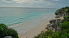 2017-12-07_09-42-56_ILCE-6500_DSC02485 (Miguel Discart (Photos Vrac)) Tags: 2017 24mm archaeological archaeologicalsite archeologiquemaya beach e1670mmf4zaoss focallength24mm focallengthin35mmformat24mm hdr hdrpainting hdrpaintinghigh highdynamicrange holiday ilce6500 iso100 landscape maya meteo mexico mexique pictureeffecthdrpaintinghigh plage sony sonyilce6500 sonyilce6500e1670mmf4zaoss travel tulum vacances voyage weather yucatecmayaarchaeologicalsite yucateque