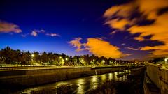 Madrid Rio desde Puente del Rey (pepoexpress - A few million thanks!) Tags: nikon nikkor d750 nikond75024120f4 nikond750 24120mmafs pepoexpress cielosdemadrid madrid madridrio puentedelrey night nightphotography citynight clouds madfoto meetup river rio