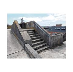 car park steps (chrisinplymouth) Tags: steps concrete staircase carpark plymouth devon england uk city cw69x desx diagx xg diagonal