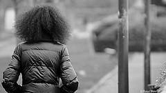 Hair (patrick_milan) Tags: hair portrait black white back street girl fille woman femme cof049 cof049mchi cof049dmnq cof049cott cof049mari cof049cg