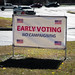 Early Voting. No Campaigning.