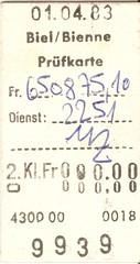 "Prüfkarte Billettdrucker Pautze • <a style=""font-size:0.8em;"" href=""http://www.flickr.com/photos/79906204@N00/45406764834/"" target=""_blank"">View on Flickr</a>"