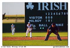 Irish Yard, Milroy Irish #4 (gardnerphotos.com) Tags: townball minnesotaamateurbaseball milroyirish gardnerphotoscom summer baseball minnesota