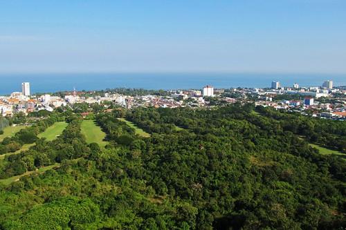 View from Khao Hin Lek Fai, Hua Hin