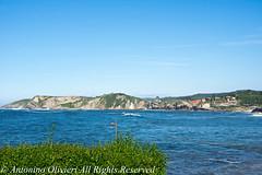 Comillas Bay 1 (Nino Olivieri) Tags: luoghi water falesia mare spagna sea comillas scene spain paesaggiomarino bay cantabria baia elements cliff seascape scena elementi españa acqua