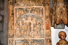 Retaule de sant Llorenç (Santa Coloma de Queralt - Conca de Barberà) (Angela Llop) Tags: catalonia tarragona concadebarberà gotic