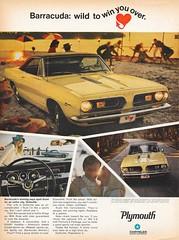 Plymouth Barracuda (sumsamasomava) Tags: cars wellitsyellow beaches clunky