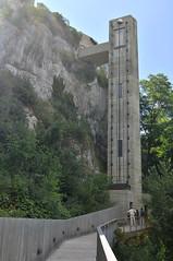 Switzerland, Rheinfall (Бесплатный фотобанк) Tags: lift elevator лифт подъемник швейцария швейцарская конфедерация водопад