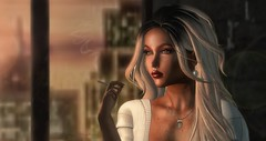 N368 Thinking Back (Tiffany's Blended Beauty Blog) Tags: cae luas access noir theface runaway salon52 ebento gloss foxcity