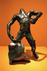 Falling Man (L'homme qui tombe), by Auguste Rodin (JB by the Sea) Tags: paloalto stanforduniversity stanford california november2017 cantorcenterforvisualarts augusterodin rodin statue sculpture bronze