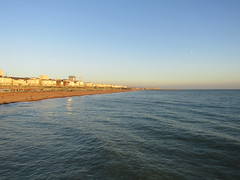 Brighton Beach looking east (wallygrom) Tags: england sussex eastsussex brighton snailtrail sculpturetrail snailspace bemoresnail sculptures