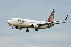 Photo (Rorohiko) Tags: dqfjg fiji airways air pacific boeing 737 737800 christchurch
