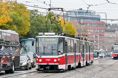 BRN_1707_201811 (Tram Photos) Tags: ckd tatra kt8d5rn2 brno brünn strasenbahn tram tramway tramvaj tramwaj mhd šalina dopravnípodnikměstabrna dpmb