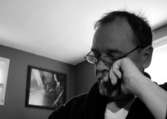 Pensive - Day 32 of 365 (Life Imperfect) Tags: 365days selfportrait me sp 365 day32