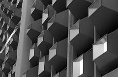Milton Keynes causeway (lane-malcolm) Tags: shapes architecture blocks design