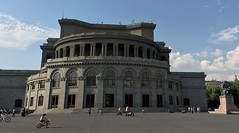 Yerevan Opera Theatre (cowyeow) Tags: armenia caucuses travel city street urban architecture famous building citycenter citycentre opera house theatre people public