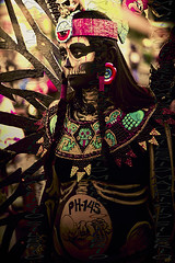 Eternal circle (Mau Silerio) Tags: day dead sony alpha pregnant prego catrina portrait tribe tribal tradition traditional makeup parade model modelling