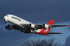 VH-OKQ Airbus A380-842 EGLL 14-12-17 (MarkP51) Tags: vhokq airbus a380842 a380 qantas qf qfa london heathrow airport lhr egll england airliner aircraft airplane plane image markp51 nikon d7200 sunshine sunny aviationphotography