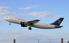 2010 09 12 manston SU-GAS (jon L1049H) Tags: airbus a300 manston sugas egyptair cargo