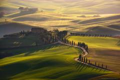Casolari a Pienza (Francesco Bianchi) Tags: pienza valdorcia casolari sunset hills light cypress