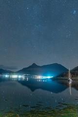 Night Sky (hotspurjohn) Tags: nightsky ballachulish glencoevillage discoverglencoe sgurrnaciche sgurrnamfiannaidh lochleven invercoe scotland mountain munro landscape scottishlandscape nightphotography nightscape