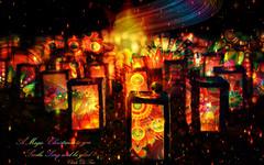 "Magic of Christmas. (♣Cleide@.♣) Tags: © ♣cleide♣ brazil 2018 photo art digital photoshop lights christmas holiday blending fartdigital exotic ""netartii"" awardtree s0tn"