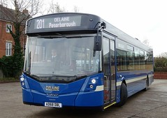 Bourne (Andrew Stopford) Tags: ad68dbl volvo b8rle wright eclipse delainebuses bourne
