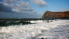 Stormy Port Erin. (Chris Kilpatrick) Tags: chris canon7dmk2 canon outdoor nature sea irishsea water waves stormy braddahead porterin windy tamron18270mm isleofman island