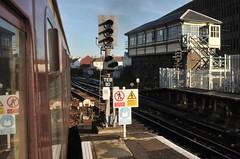 Eastbourne East Sussex 12th December 2018 (loose_grip_99) Tags: railway railroad rail train eastbourne sussex station signal signalbox transportation trains railways december 2017 england uk east