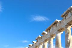 (Karsten Fatur) Tags: travel traveller travelphotography ruins architecture columns history acropolis athens greece sky stone carving ancient city cityscape landscape landscapephotography minimal minimalism