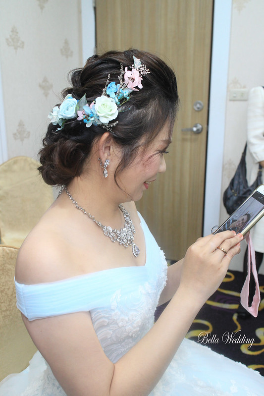 嘉義新秘, 新秘, 新娘秘書,小原婚宴餐廳, 眼型調整, 浪漫仙女風格,不凋花編髮造型 , HD高清噴槍底妝