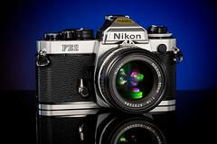 Nikon FE2 (martin wilmsen) Tags: nikon 35mm 35mmfilmcamera vintagenikon d850 strobist elinchrom elc1000 105mm studio skyport strobelight tabletop productshot productphotography cameracollection 50mmaislens