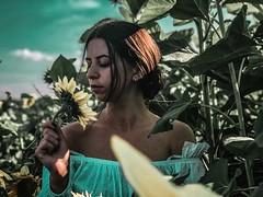 Portrait (supreme_galaxy) Tags: plumeria summer phalaenopsis tranquil scene summertime nightblooming cereus fair weather gerbera orchids sundress serenity midsummer sunflower girl