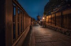 Street of Kyoto at night (karinavera) Tags: city night photography cityscape urban ilcea7m2 street japan gion kyoto