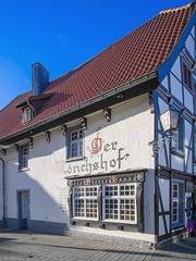 """Gasthaus """"Mönchshof"""" (staetebau) Tags: deutschland germany soest fachwerkhaus halftimbered"""