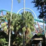 Florida - Tampa:  Busch Gardens Theme Park - Kumba roller coaster (in the back) thumbnail