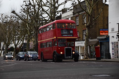 London Transport RTW467 on Route 228, Holland Park (e400olympus) Tags: london transport rtw467 llu957 aec routemaster