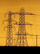 Woodend Electricity Sub Station (Brian Cairns) Tags: towers pylons electricity woodendess gartcosh gartloch brianbcairns rain incoming deviation power